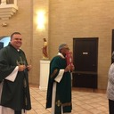 Thank you Father Patrick for celebrating mass with us